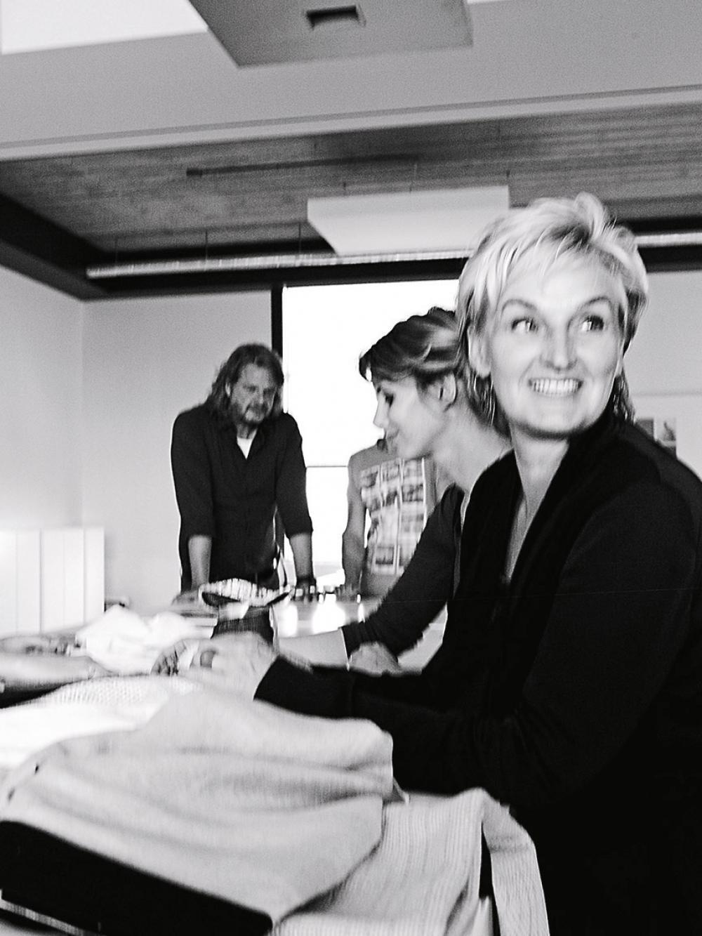 Styling team with Karin Meyn