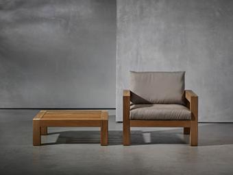 LARS outdoor armchair