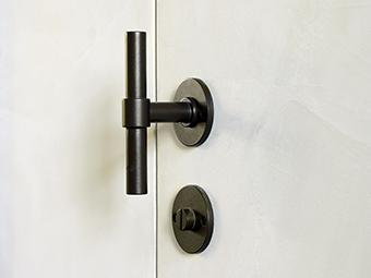 ONE door handle and lock by Formani