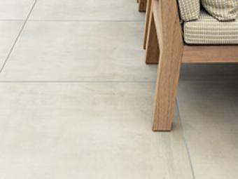 Outdoor tiles by Douglas and Jones
