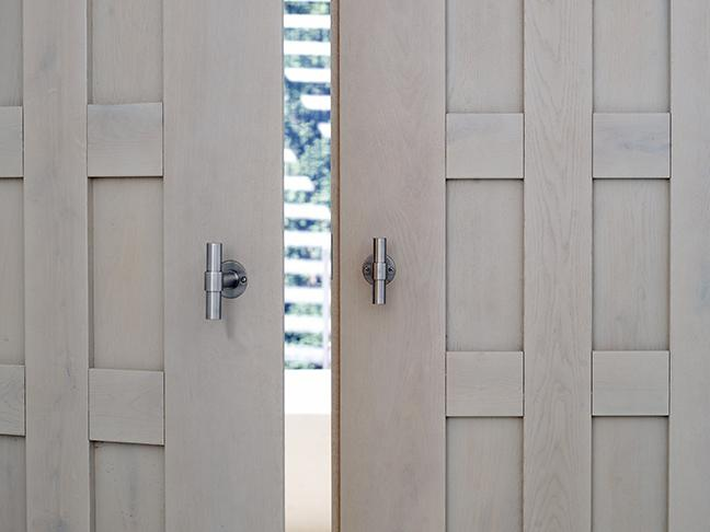 Bod'or doors with hardware One by Formani at South Coast Villa