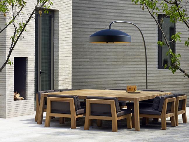 DISC patio heater by Heatsail