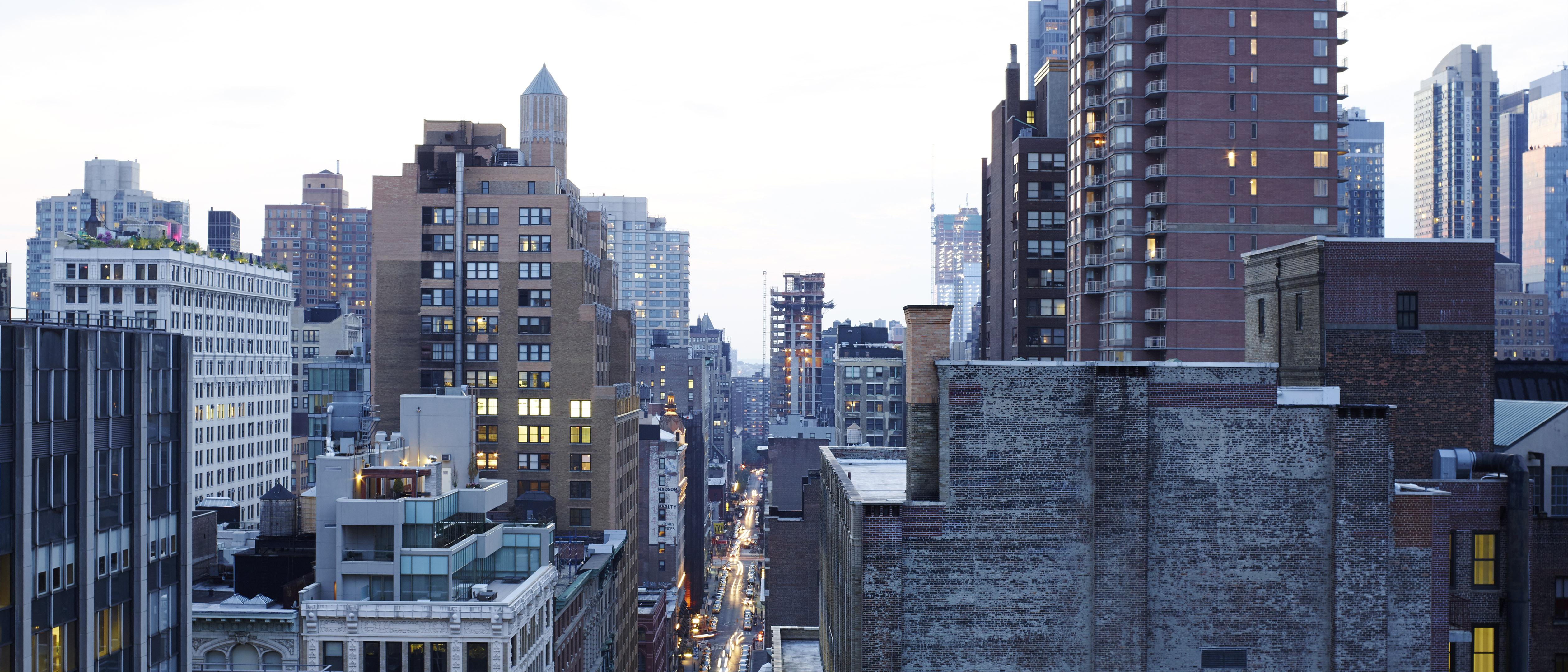 Metropolitan penthouse in New York City