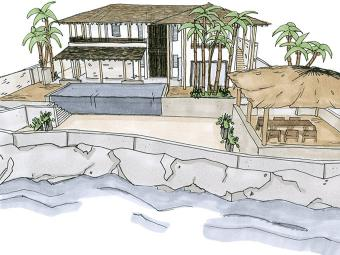 Caribbean Beach Villa 4