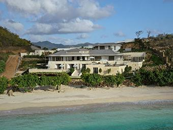Luxury beach residence on Antigua