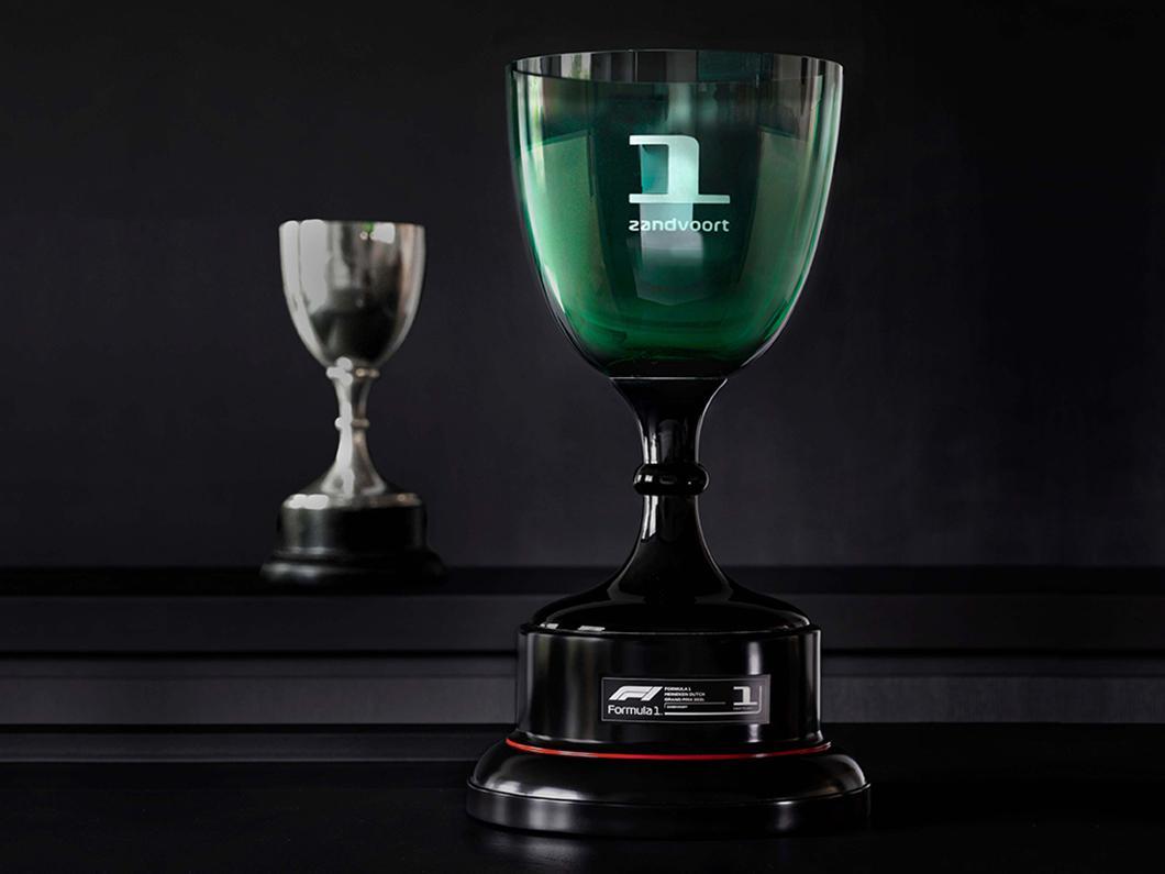 designs prestigious F1 Dutch Grand Prix trophy