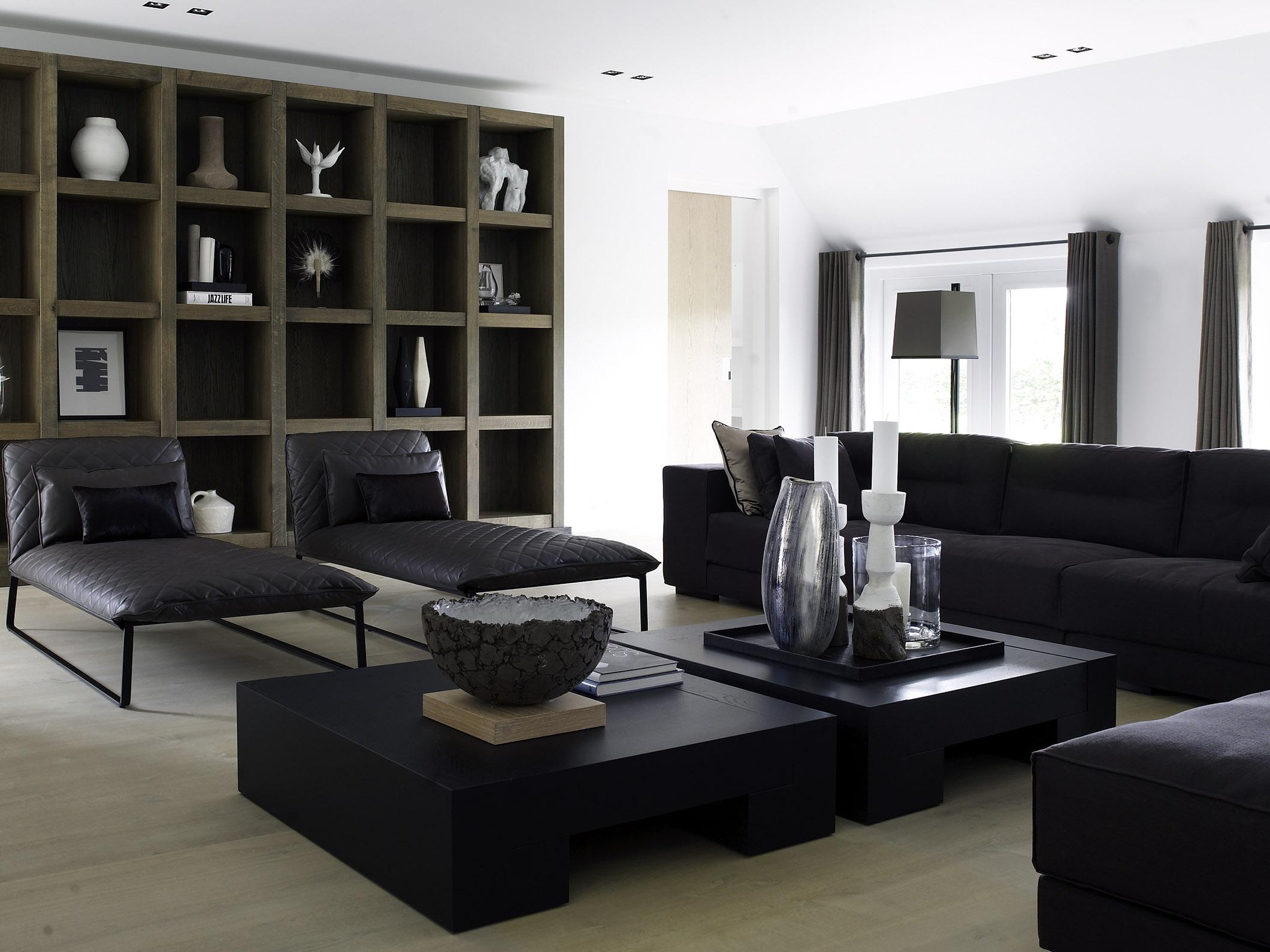 KEKKE longchair, DIEKE sofa and ITSKE and TOOS coffee table at Dutch farm house