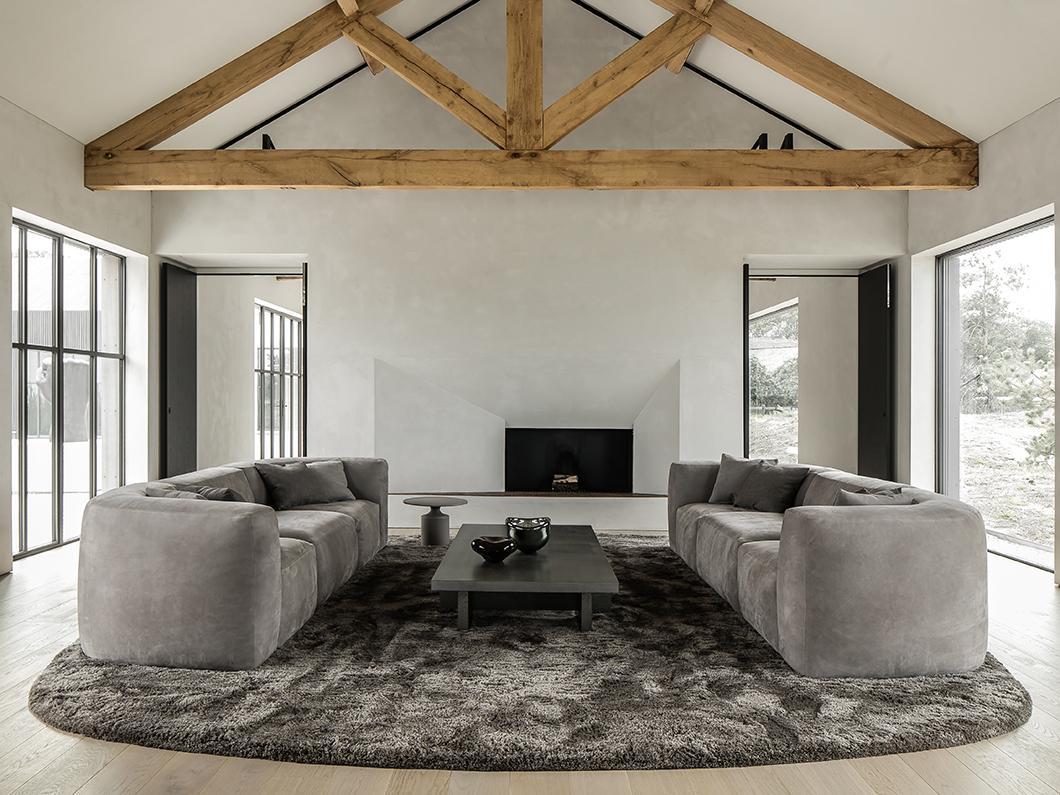 Bod'or doors and SAAR bar stool at south coast villa