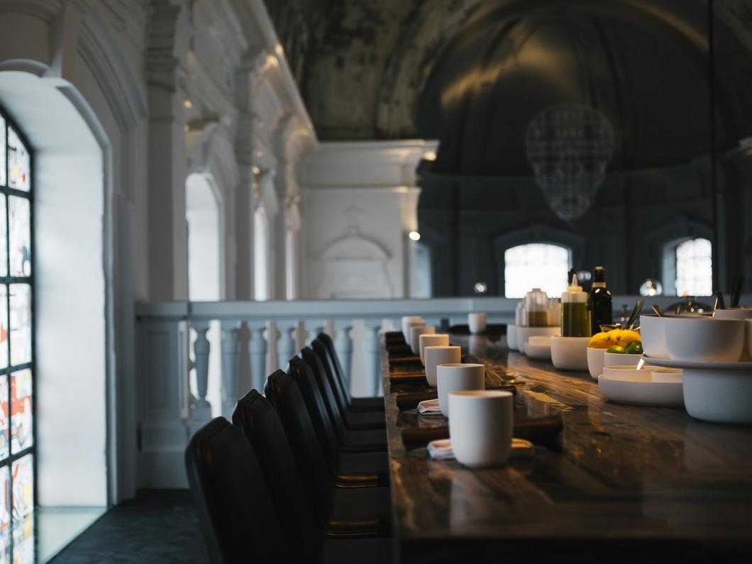 Restaurant the Jane Antwerp with tableware by Serax
