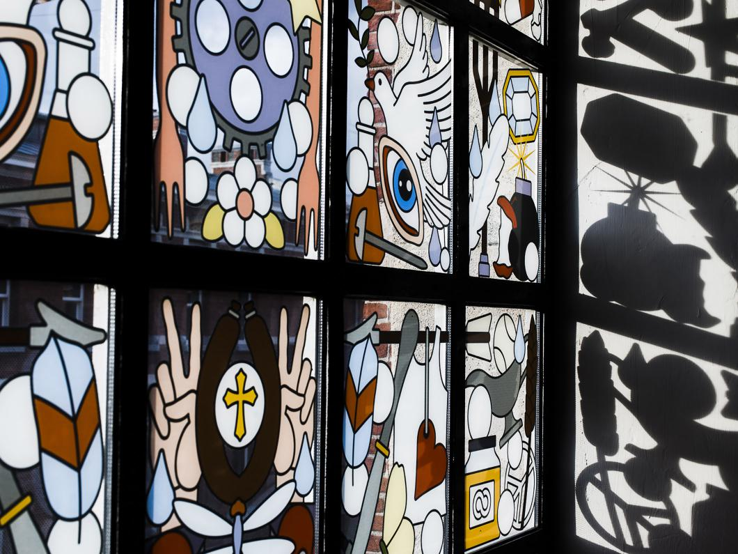The Jane Antwerpen : Prachtig glas in lood picture of the jane antwerp tripadvisor