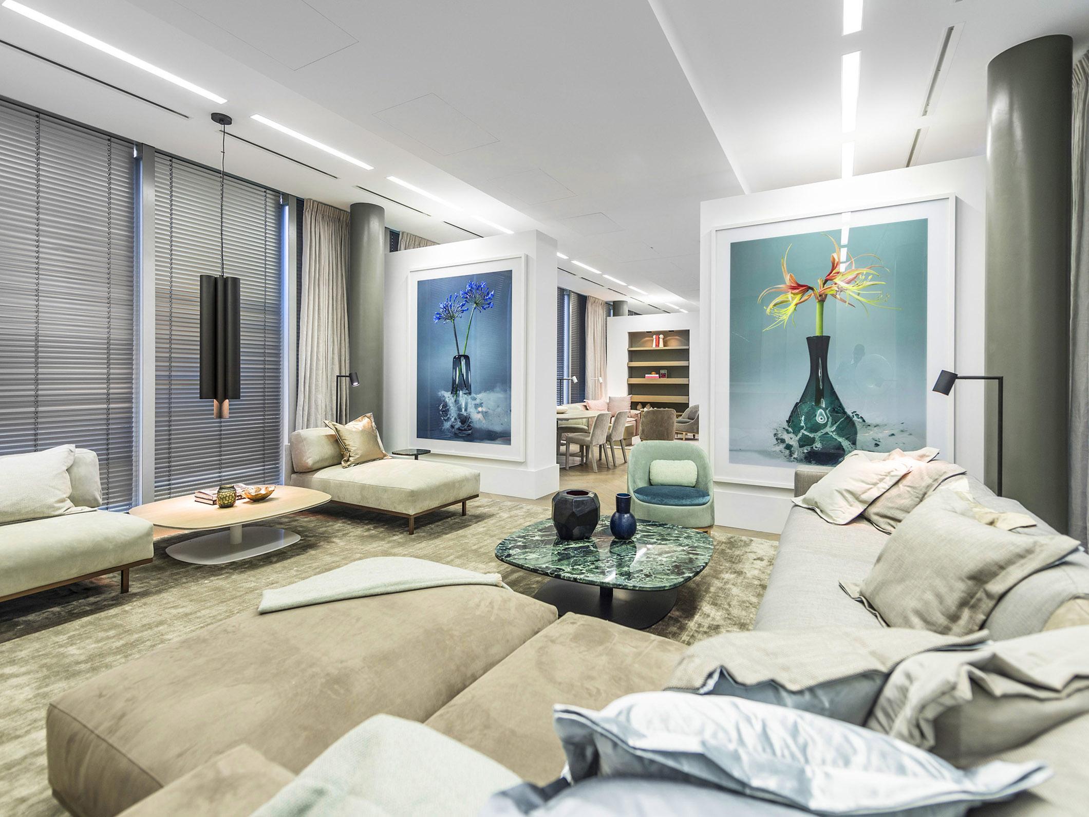 Cadman Düsseldorf concept store offices design projects studio piet boon