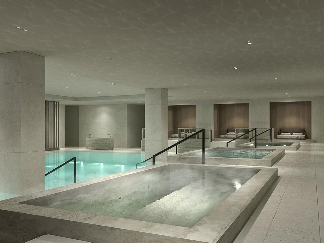 Hotel Andaz Seoul Gangnam by Hyatt indoor pool