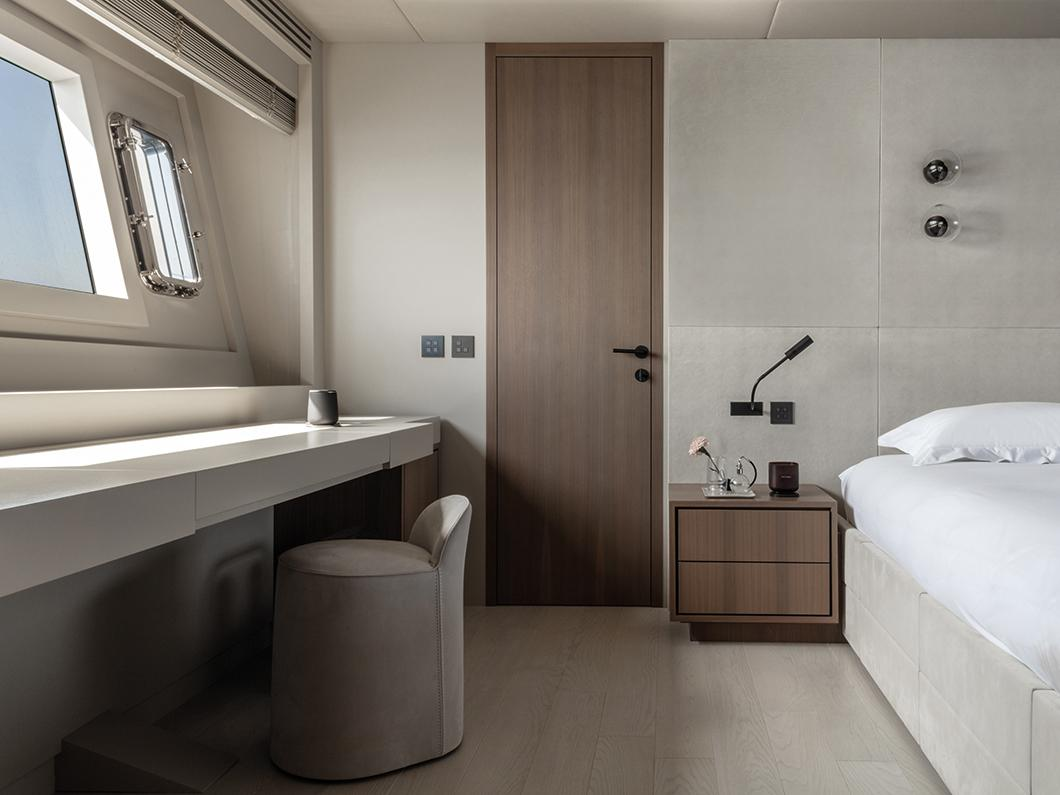 Slaapkamer op Mangusta jacht