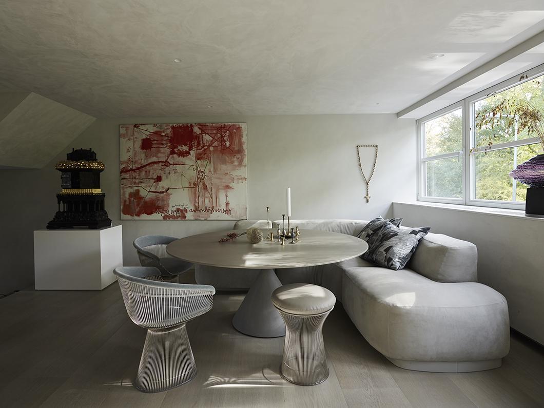 BO dining sofa