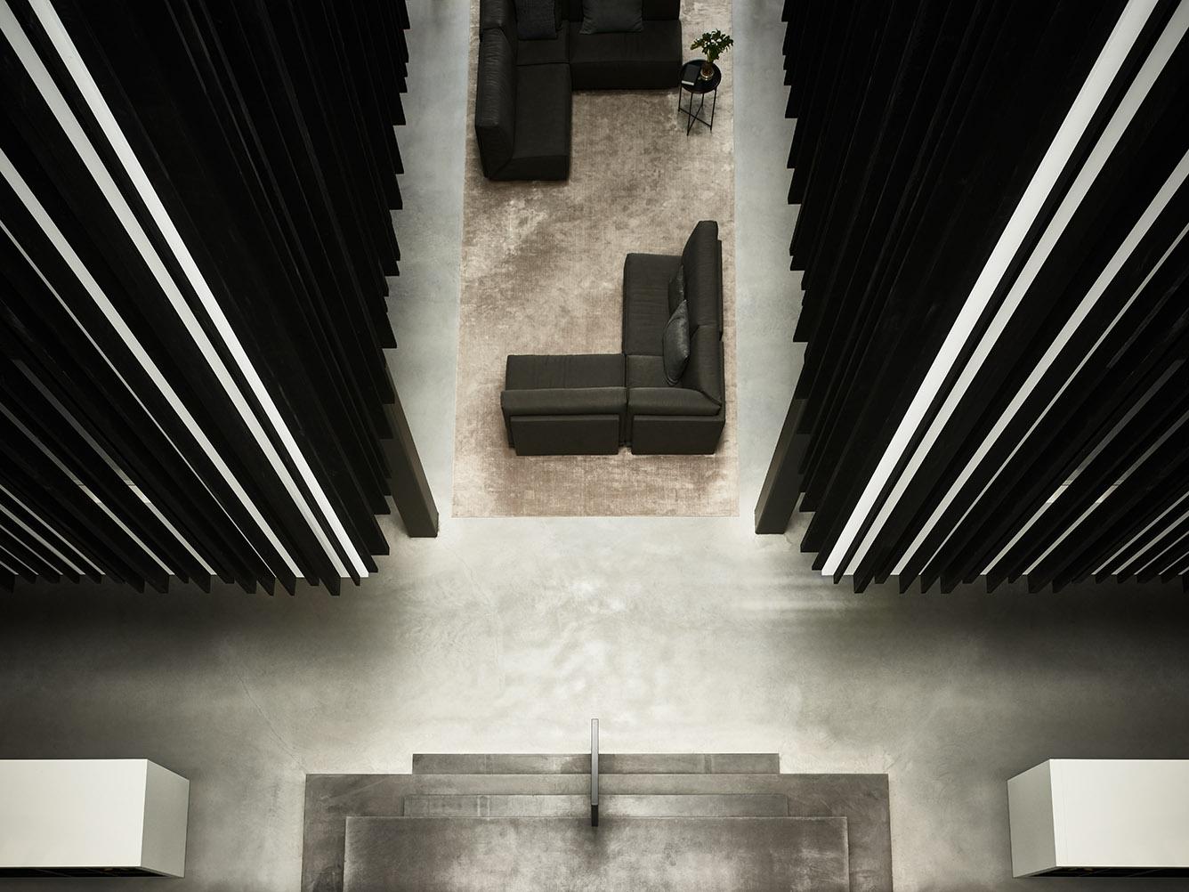 Riverdale headquarters with DOUTZEN sofa