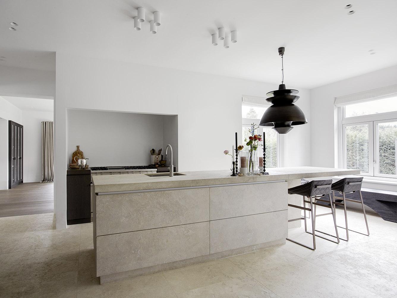 Urban residence in Amsterdam with KEKKE kitchen stool