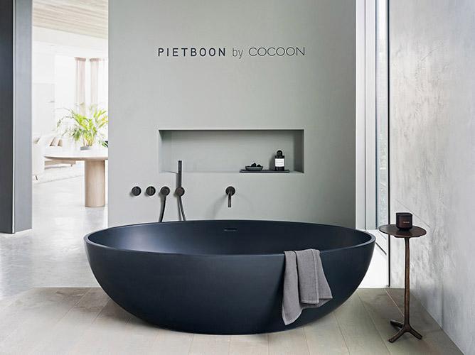 Piet Boon Badkamer : Inspiratie zwarte badkamer studio piet boon