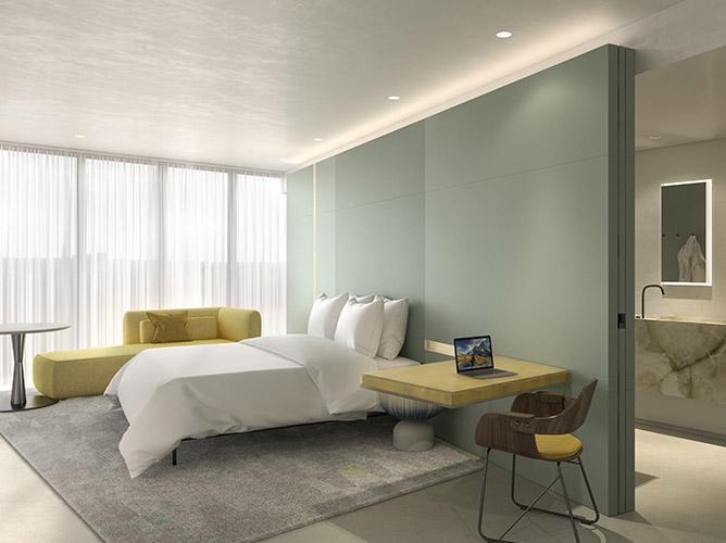 Hotel Andaz Seoul Gangnam by Hyatt deluxe suite bathroom