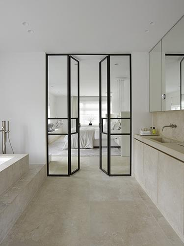 Bathroom at residence in Amsterdam