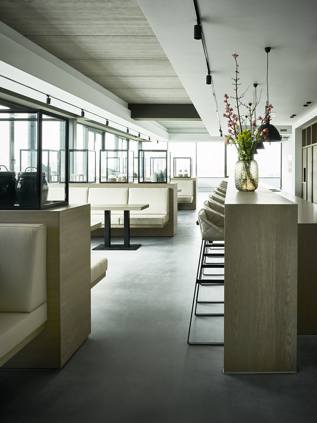 Riverdale headquarters with KEKKE bar stool