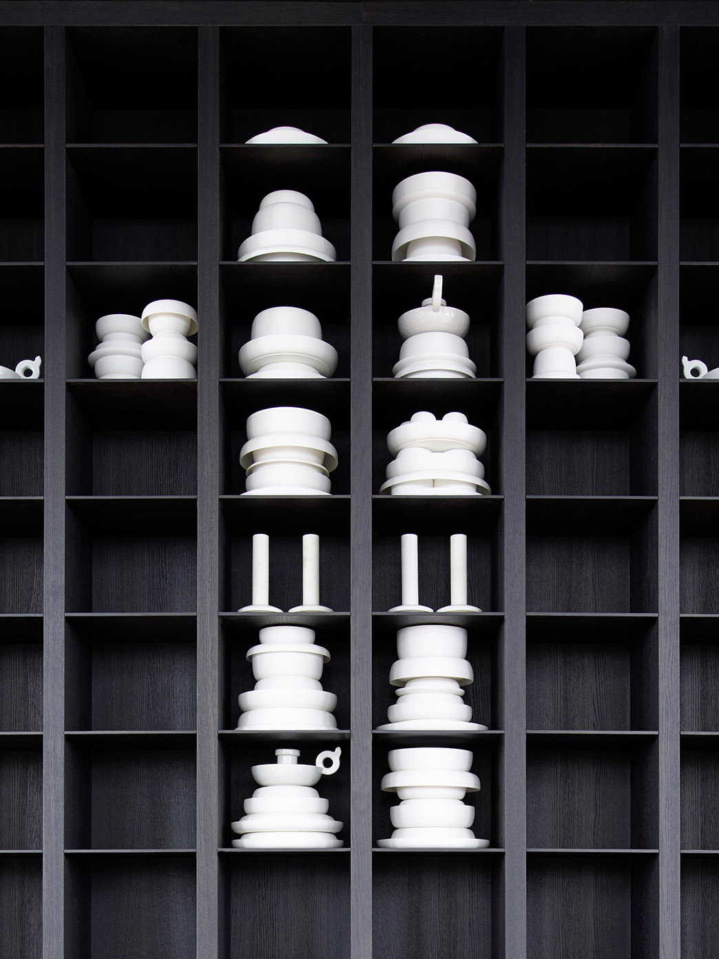 Restaurant the Jane Antwerp with tableware by Serax