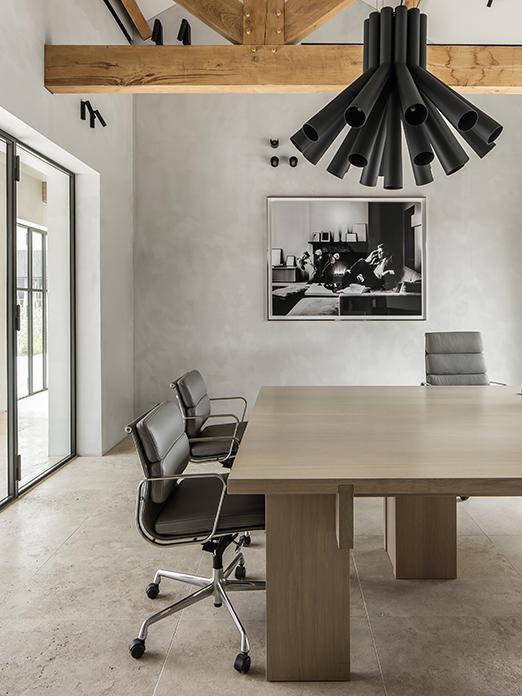 RAAF dining table and SAAR chair