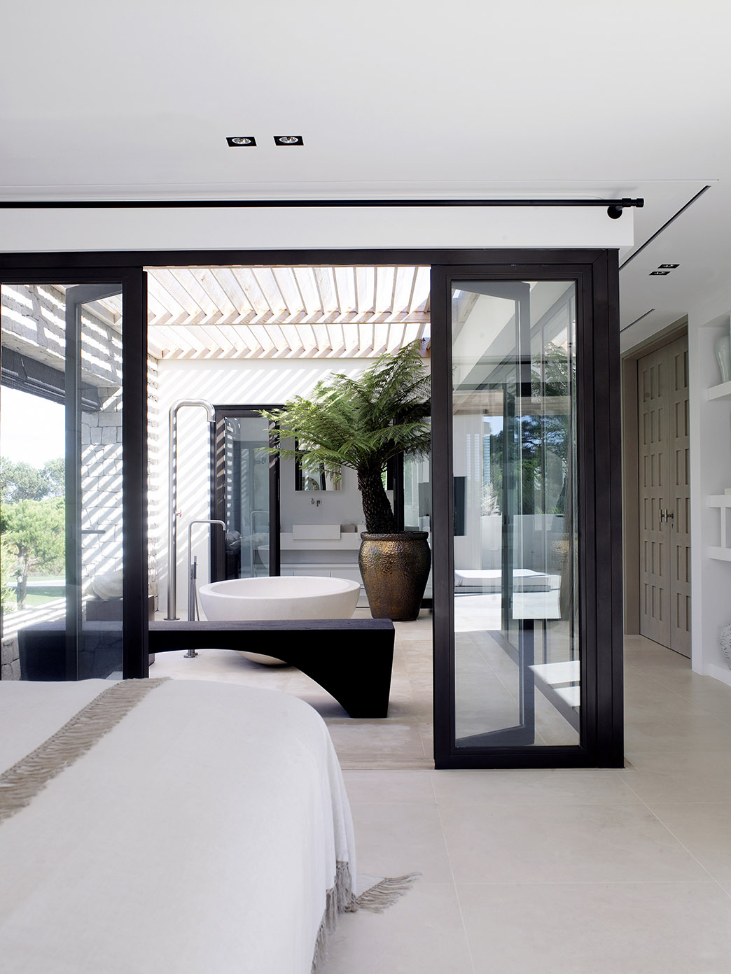 Doors by Bod'or and Formani ONE at south coast villa