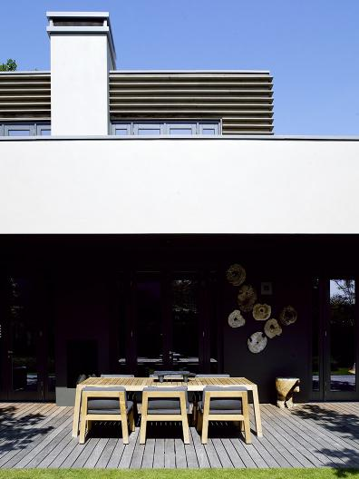 Rotterdam cubist villa with NIEK armchair and ANNET table