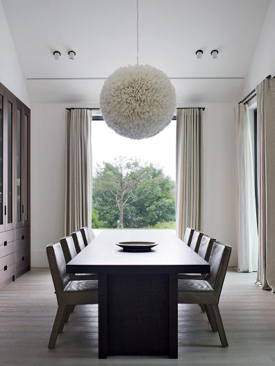 SAAR chair and GERRIT dining table at Korean residential resort
