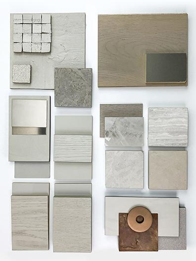 Material board shell