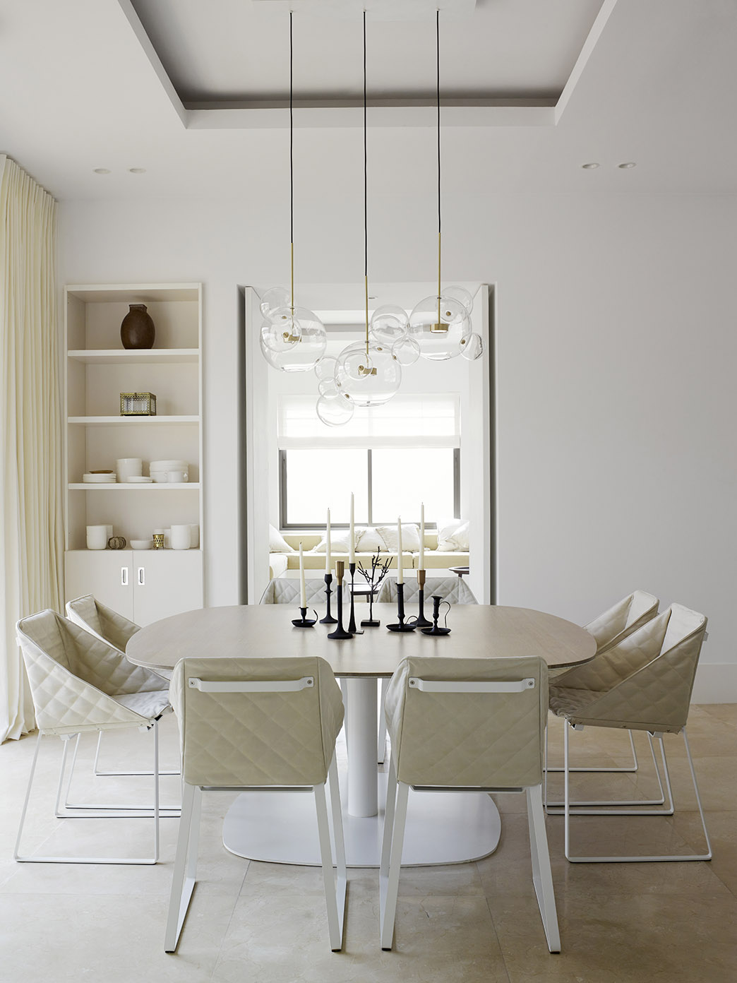 Jawaher Villas Riyadh with KEKKE table and dining chair