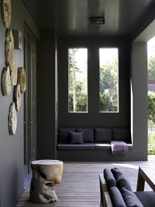 Rotterdam cubist villa with NIEK armchair