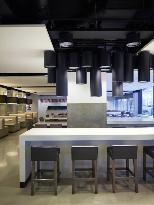 Delta Lloyd headquarters with SAAR bar stool