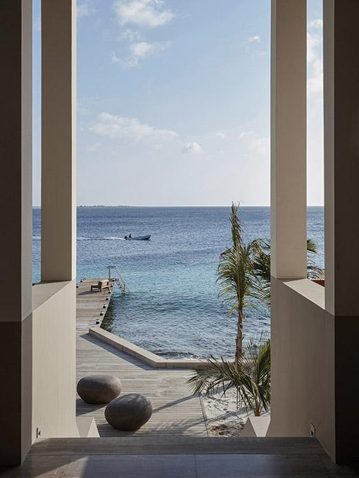 Seaview from beach residence on Bonaire