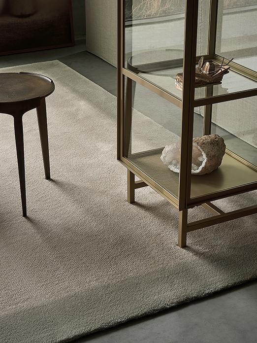 RISE carpet by Carpetlinq in living room