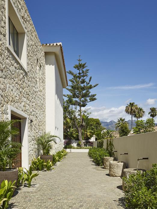 Mediterranean Garden Villa