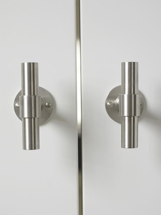 Hardware TWO by Formani and doors by Bod'or at urban residence