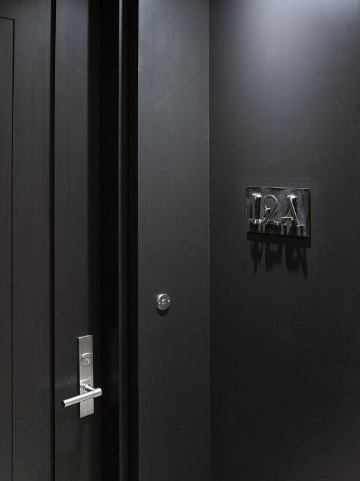Hardware ONE by Formani and doors by Bod'or at Huys 404 park avenue south